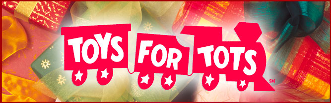 Toys For Tots Banners : Please help us by donating gently used or new toys